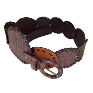 Wilson's Leather Belt Discs Conchos BOHO M